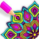 Livro de colorir de mandala Zen