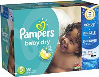 Pampers Baby Dry, 160 Count