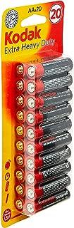 Kodak Super Heavy Duty AA 20 Pack Zinc Batteries (30926950)