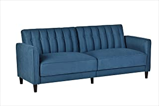 Container Furniture Direct SB-9032 Charlotte Mid Century Modern Tufted Convertible Sleeper Sofa, 81