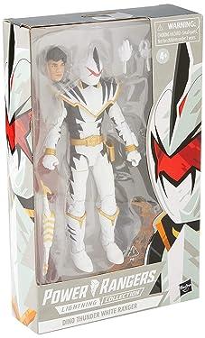 Power Rangers PRG LC 6IN DT White Ranger Figure