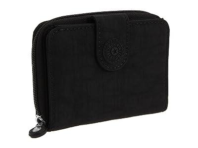 Kipling New Money Deluxe Wallet (Black) Wallet Handbags