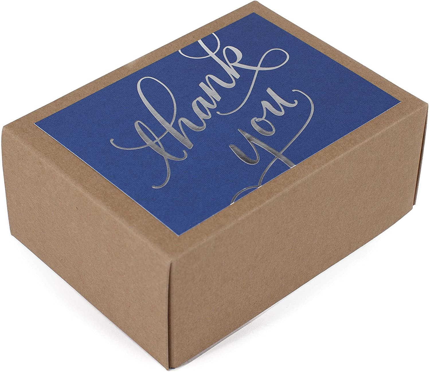 Hallmark Thank You Indianapolis Mall Cards Silver Foil Notes online shop 40 Script