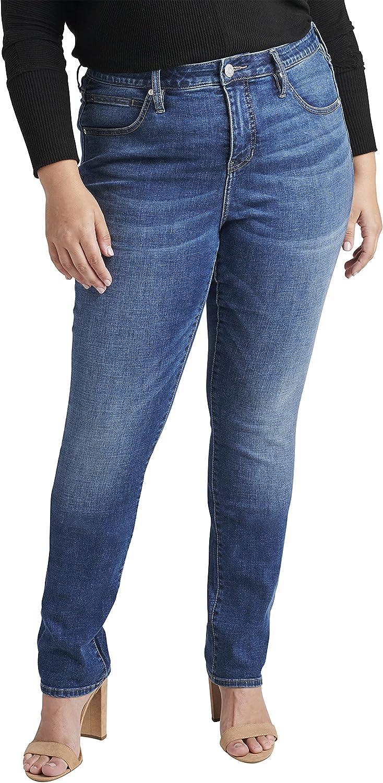 Jag Jeans Women's Plus Size Ruby Mid Rise Straight Leg Jean