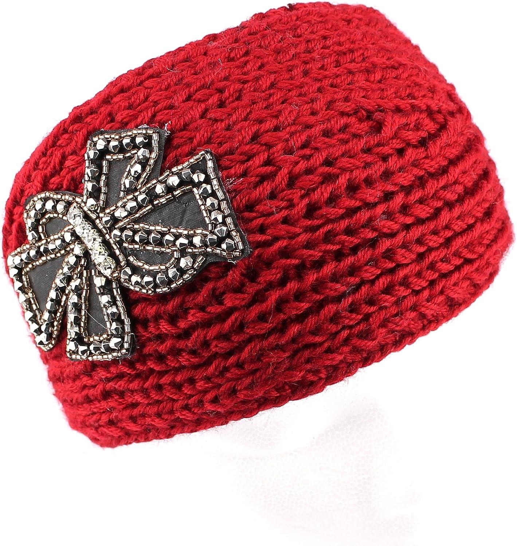 Mudd Teen/women Bow Knit Headwrap