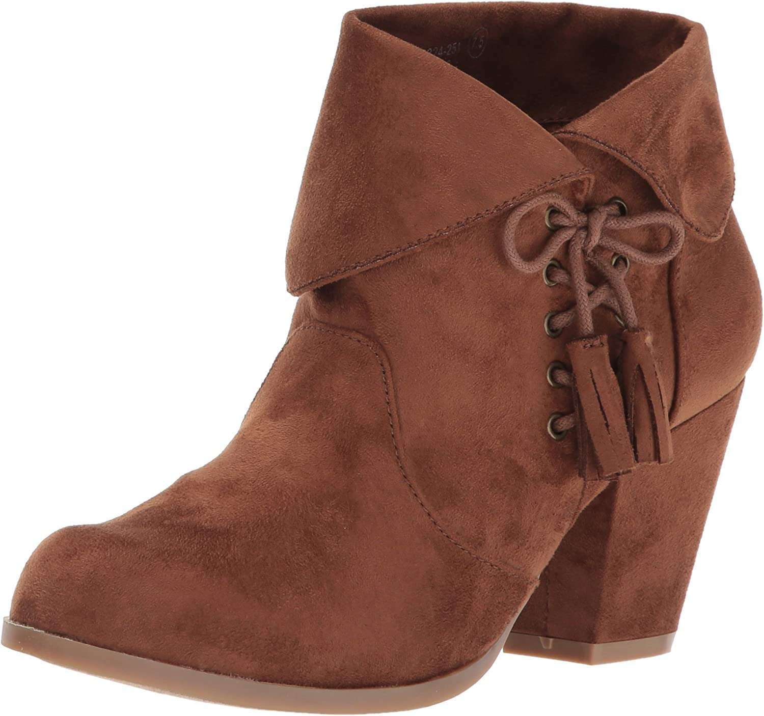 Not Rated Womens Soset Ankle Bootie
