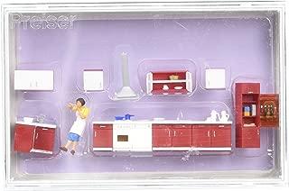Preiser 10646 Mother Cooking Woman & Kitchen Furniture HO Model Figure