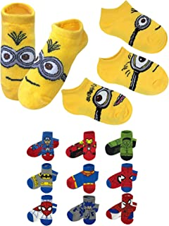 minion socks for toddlers