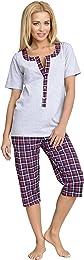 Grossesse Pyjama Allaitement Ensemble Haut et Bas