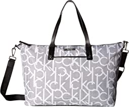 Athleisure Nylon East/West Tote