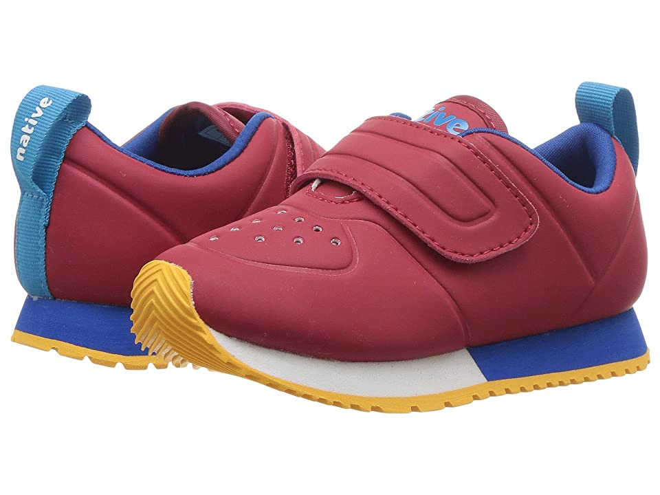 Native Kids Shoes Cornell HL CT (Toddler/Little Kid) (Ski Patrol Red CT/Shell White/Victoria Blue/Beanie Rubber) Kids Shoes