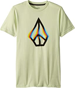 Peace Blur Short Sleeve Tee (Big Kids)