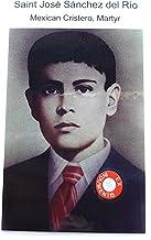 relic card 3rd Class of Saint Jose Luis Sanchez del Rio Mexican Cristero Martyr Guerra Cristera en México Rosario Cristo R...