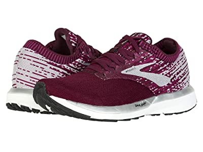 Brooks Ricochet (Fig/Wild Aster/Grey) Women