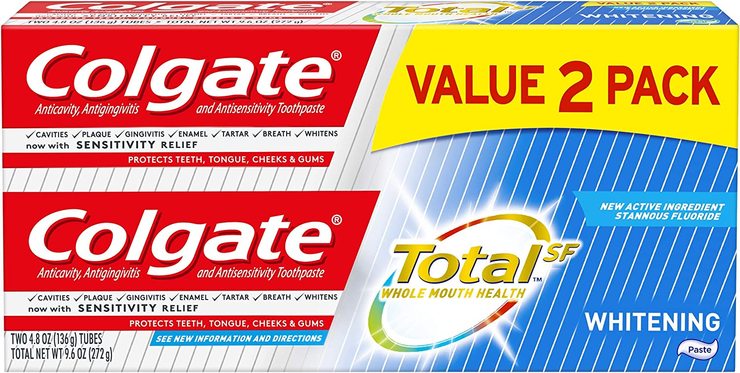 Colgate Total Whitening Miami Mall Toothpaste 4.8 Count 2 Atlanta Mall Ounce