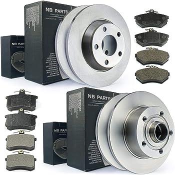 L/'avant ventilé disques de frein renault scenic 2 mpv 2003-09 135HP 280mm