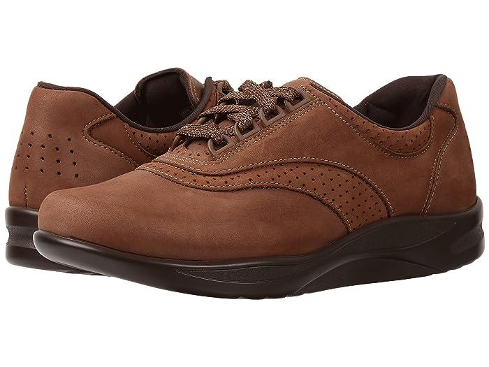 SAS Walk Easy (Chocolate Nubuck) Women's Shoes