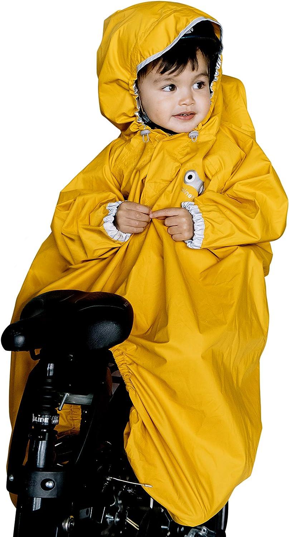 Rainette Regenschutz für Kinderfahrrad, yellow