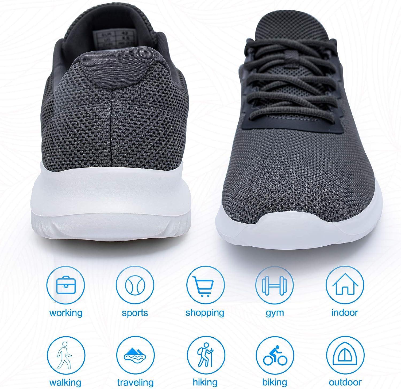 Lightweight Sports Tennis Shoes Fashion Sneakers for Men Casual Wear Akk Mens Comfortable Walking Shoes