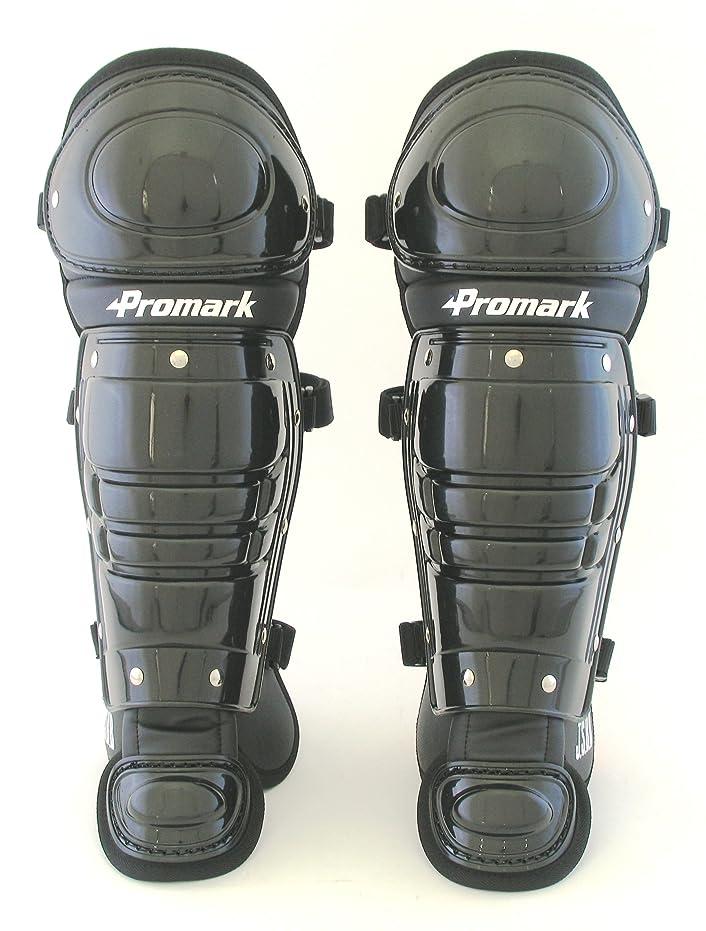 状態わずらわしい定期的にサクライ貿易(SAKURAI) Promark(プロマーク) 野球 軟式 キャッチャー レガース 一般用 ブラック RG-65BK
