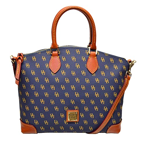 8346ccff00 Dooney   Bourke Gretta DB Signature Satchel Shoulder Bag Purse Handbag
