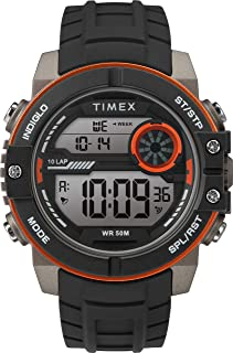 Timex Mens Quartz Watch, Digital Display And Silicone Strap - TW5M34700
