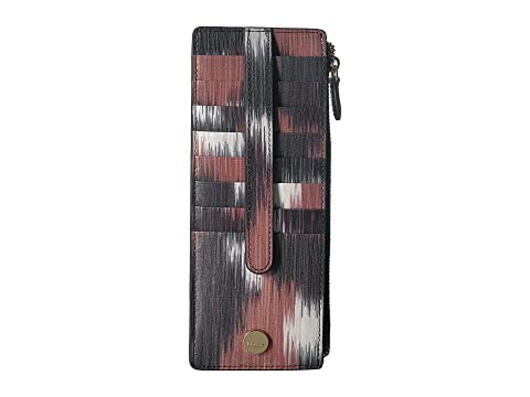 Lodis Accessories Boho Credit Card Case With Zipper Pocket At