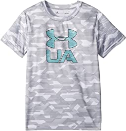 Edge Camo Logo Short Sleeve (Little Kids/Big Kids)