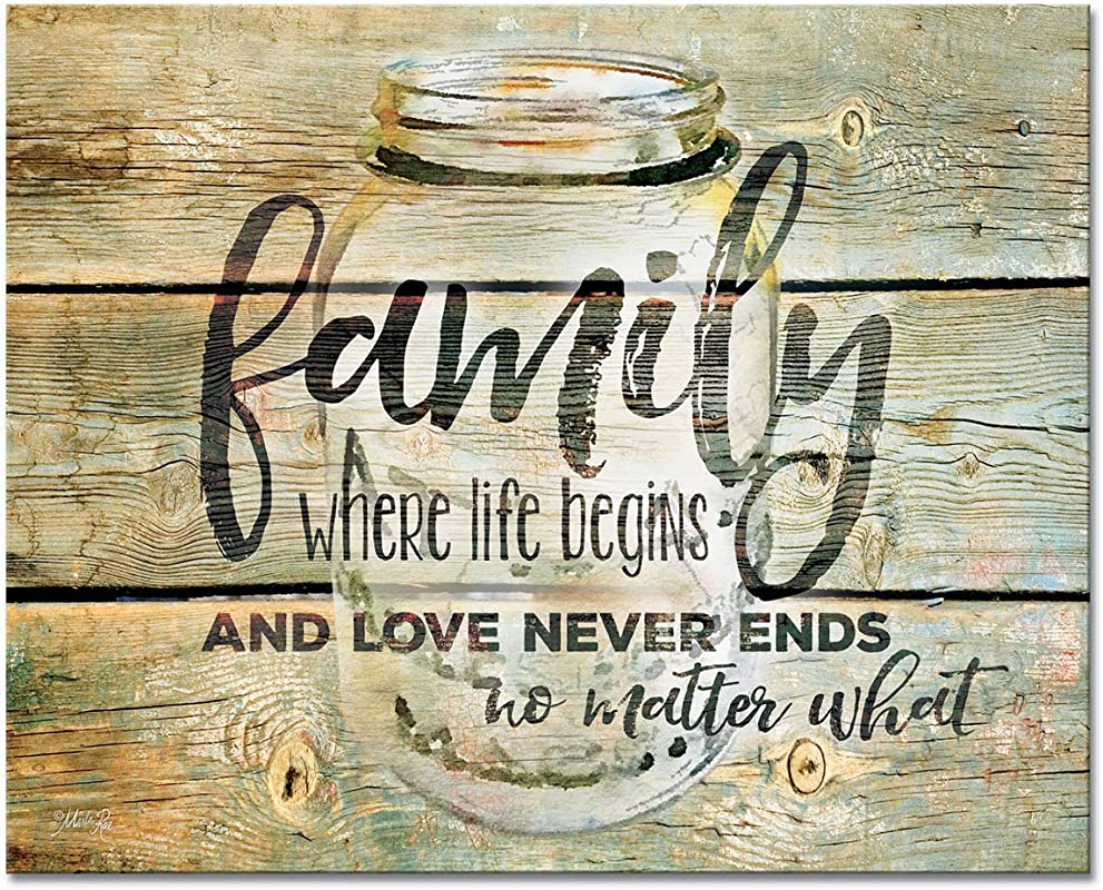 CounterArt Family Time Glass Cutting Board 15 X 12