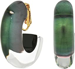 Alexis Bittar - Medium Oval Hoop Clip Earrings