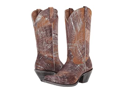 Ariat Circuit Salem (Brushed Silver) Cowboy Boots