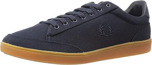 Fred Perry Men's Hopman Twill Fashion Sneaker