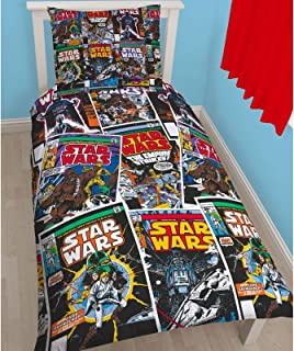 Star Wars Issues Single/US Twin Duvet Cover and Pillowcase Set
