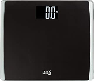 EatSmart Precision High Capacity Scale with Extra Wide Platform, 550 Pound, Black
