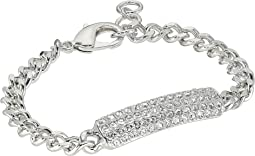Small Pave Id Bracelet; Elements By Swarovski