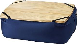BRUNO ビーズ クッション テーブル PC スマホ ソファ ネイビー BOA039-NV