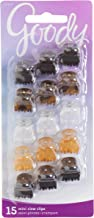 Goody Hair Women's Classics Mini Hair Crown Claw Clip, 15 Count (Pack of 1)