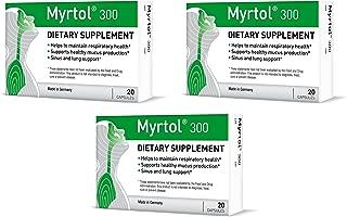 Myrtol 300, 3 Pack - Most Effective Natural Sinus Congestion Relief