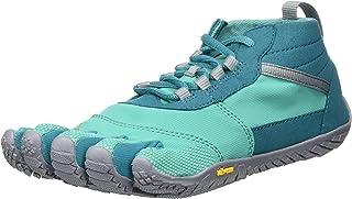 Vibram Women s V-Trek Black Gum Trail Running Shoe