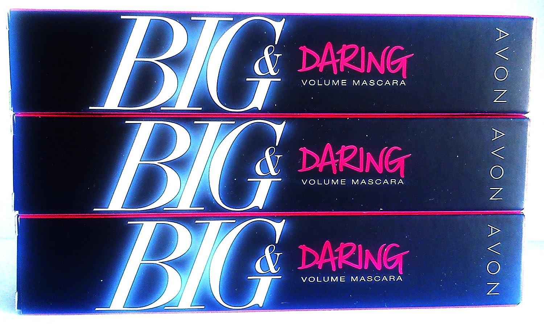 Avon Big Daring Volume Mascara BROWN BLACK shop security - 3 0.3fl.oz. 10ml