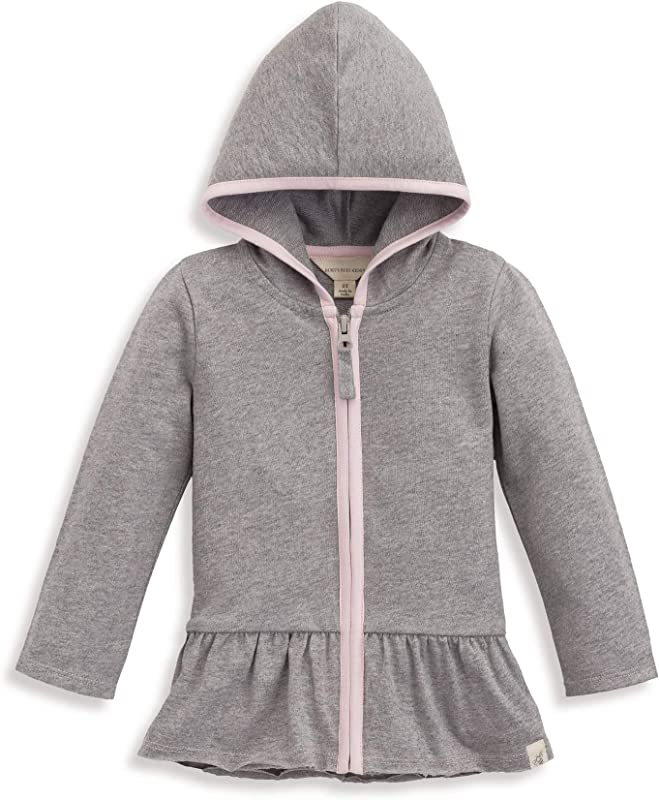 Burt S Bees Baby Unisex Baby Sweatshirts Lightweight Zip Up Jackets Hooded Coats Organic Cotton