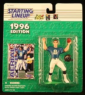 Starting Lineup Mark BRUNELL / Jacksonville Jaguars 1996 NFL Action Figure & Exclusive NFL Collector Trading Card