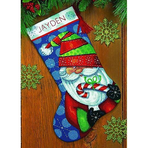 Needlepoint Christmas Stocking Kit.Needlepoint Christmas Stocking Kits Amazon Com