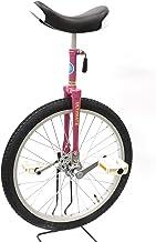"""どのスポーツのトレーニングにも一輪車は最適。 バランス感覚・体幹を鍛えられます!MYSオリジナルモデル""""Stay On Top""""【MYS20PK】シャイニングピンク 20インチ 日本一輪車協会認定 ベルマーク参加商品 一輪車 ユニサイクル プレゼント キッズ 高学年"""