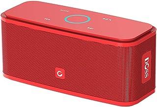 Doss SoundBox Bluetooth Hoparlör, Kırmızı