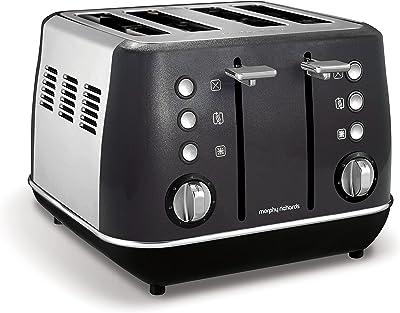 Morphy Richards Evoke Special Edition Black 4 Slice Toaster 240110
