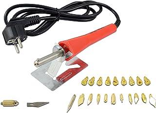 Ferrestock FSKPIR020 Pirograbador para madera con 30W y 20 puntas intercambiables
