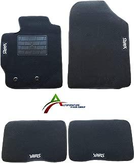 J9 rmg-distribuzione Tappeti Auto per Land Cruiser Versione tappetini Resistenti Realizzati in Gomma inodore con pretagli per Adattarsi a Tutti Le Versioni Auto R17S0869 1996-2002