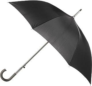totes Totes Auto Open Water-Resistant Stick Umbrella, Black (Black) - 9710