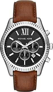 Men's Lexington Brown Watch MK8456